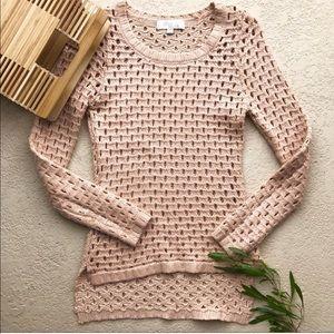 Olive & Oak Shimmer Sweater
